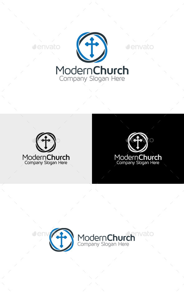 GraphicRiver Church Logo 11376718