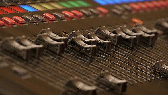 Professional Digital Audio Mixer