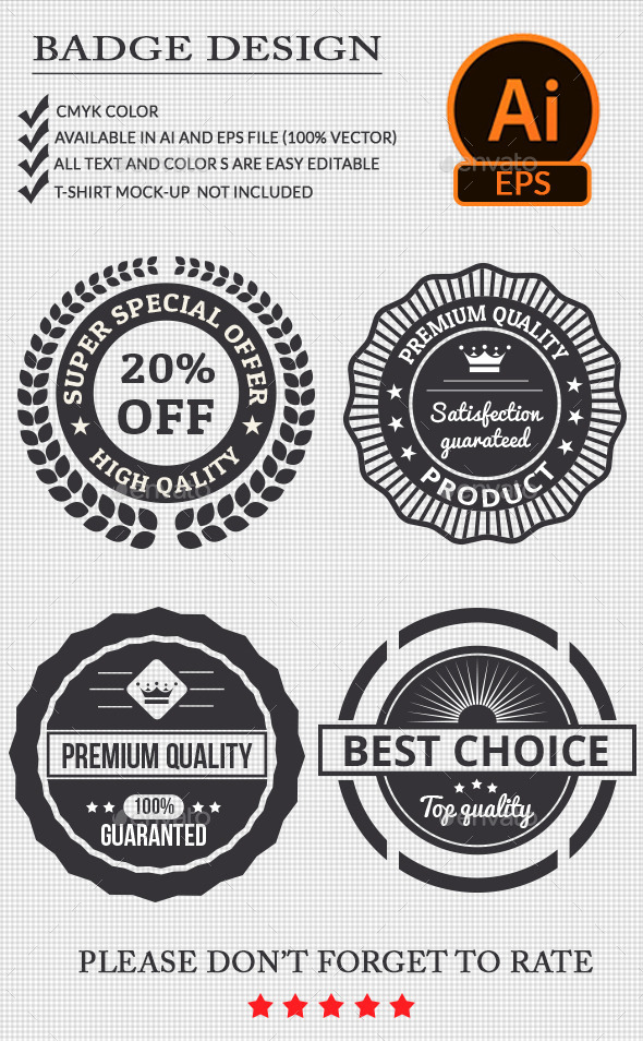 GraphicRiver Badge Design 11377163