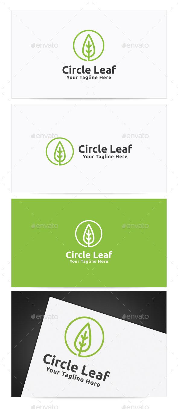 GraphicRiver Circle Leaf Logo 11377204
