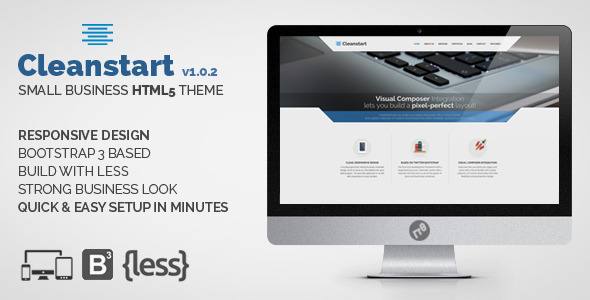 CLEANSTART Minimal Small Business - Business Corporate