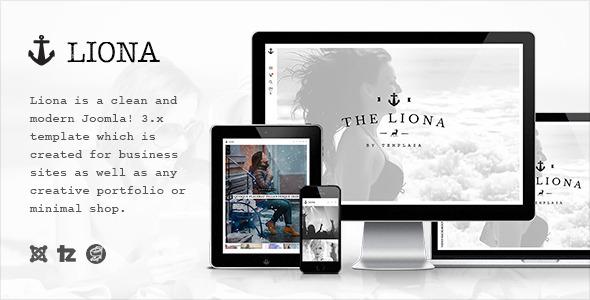 ThemeForest Liona Responsive Portfolio Joomla Template 11317508