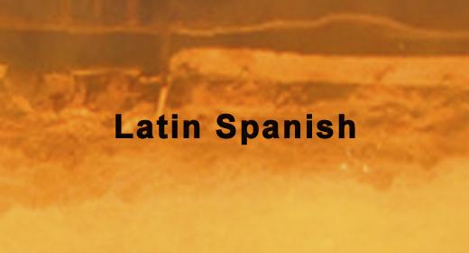 Latin Spanish