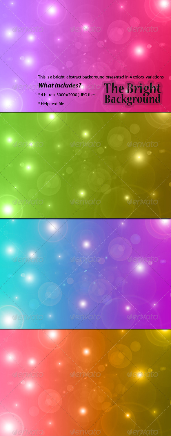 The Bright Background - Abstract Backgrounds