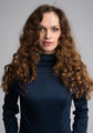 beautiful woman with long curly hair - PhotoDune Item for Sale