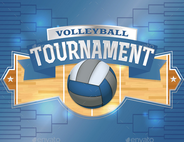 GraphicRiver Volleyball Tournament Design Poster 11377918
