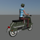 Low Poly Rider