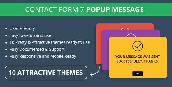 CodeCanyon Contact Form 7 Popup Message 11311062