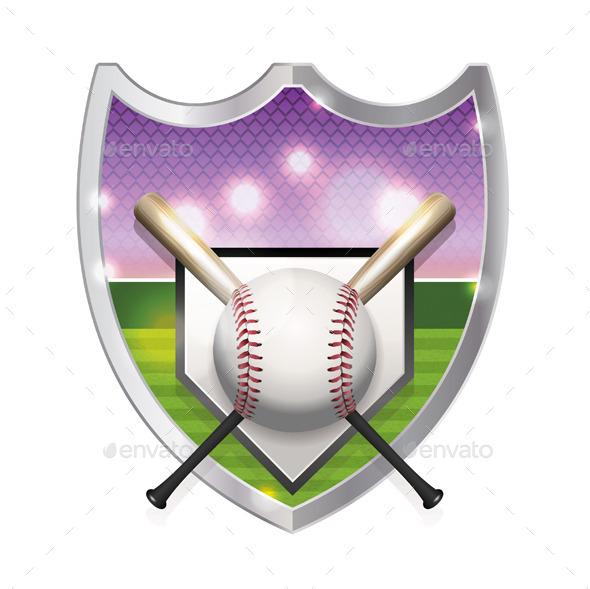 GraphicRiver Baseball Emblem Illustration 11378324