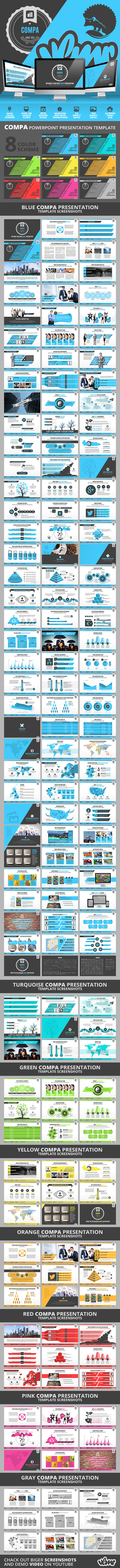 GraphicRiver Compa PowerPoint Presentation Template 11378342