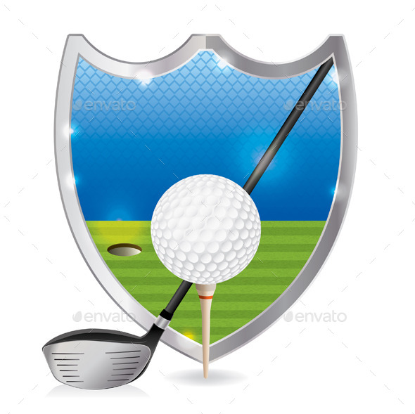 GraphicRiver Golf Emblem Illustration 11378343