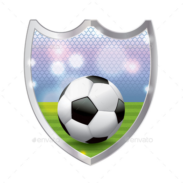 GraphicRiver Soccer Emblem Illustration 11378348