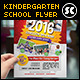 Kindergarten Junior School Flyer - GraphicRiver Item for Sale