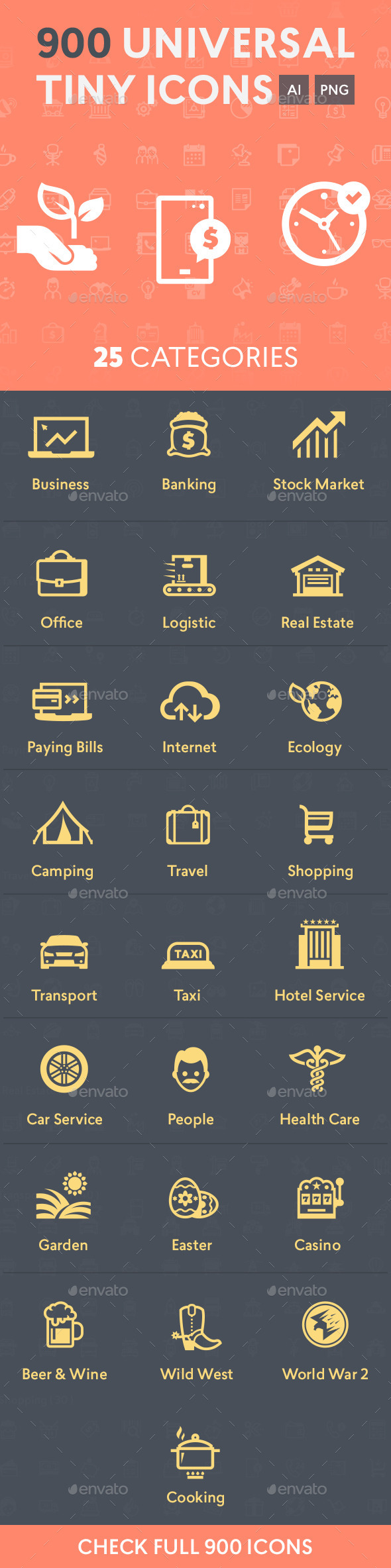 GraphicRiver Universal Tiny Icons 11378442