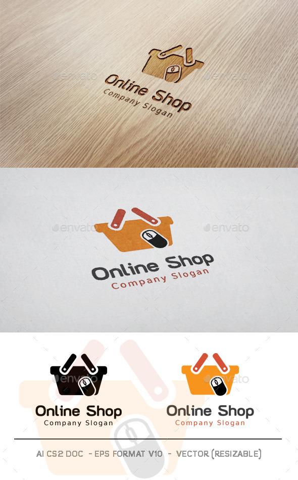 GraphicRiver Online Shop Logo 11378456