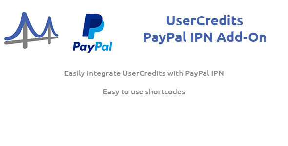 UserCredits for WordPress - PayPal IPN Add-On - CodeCanyon Item for Sale