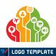Internet Of Things   Cloud Logo - GraphicRiver Item for Sale