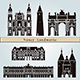 Nancy Landmarks and Monuments - GraphicRiver Item for Sale