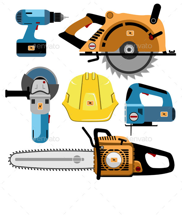 GraphicRiver Set of Tools 11378757
