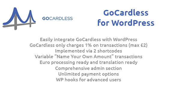 GoCardless for WordPress Plugin - CodeCanyon Item for Sale