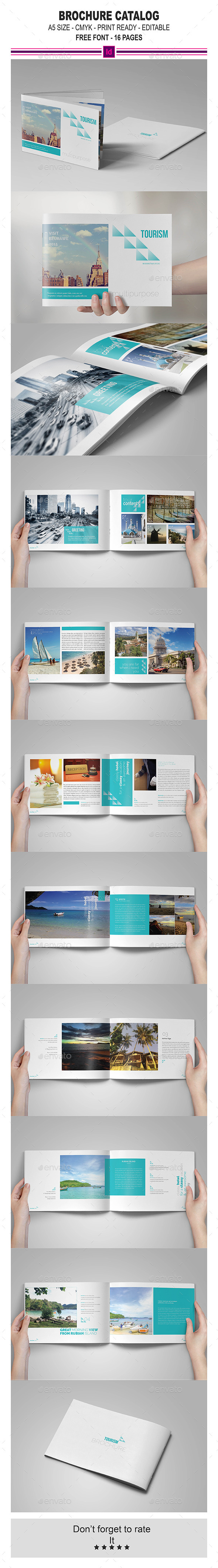 GraphicRiver InDesign Brochure Catalog Template 11378837