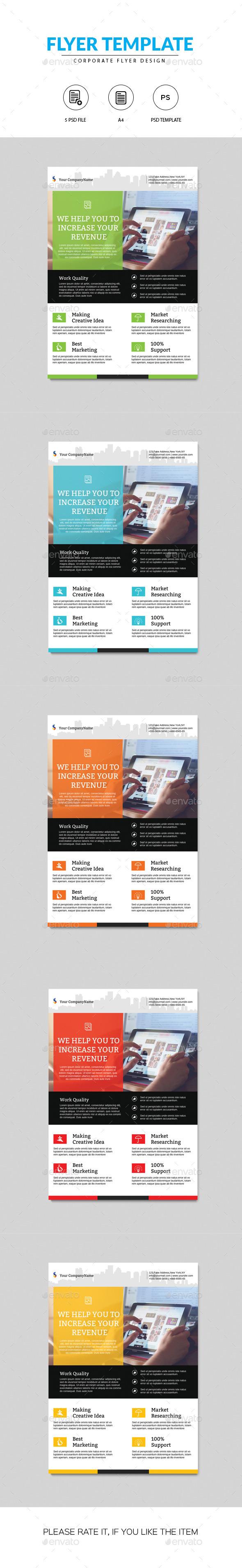GraphicRiver Corporate Flyer 11379131
