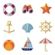 Sea Objects Collection Vector  - GraphicRiver Item for Sale