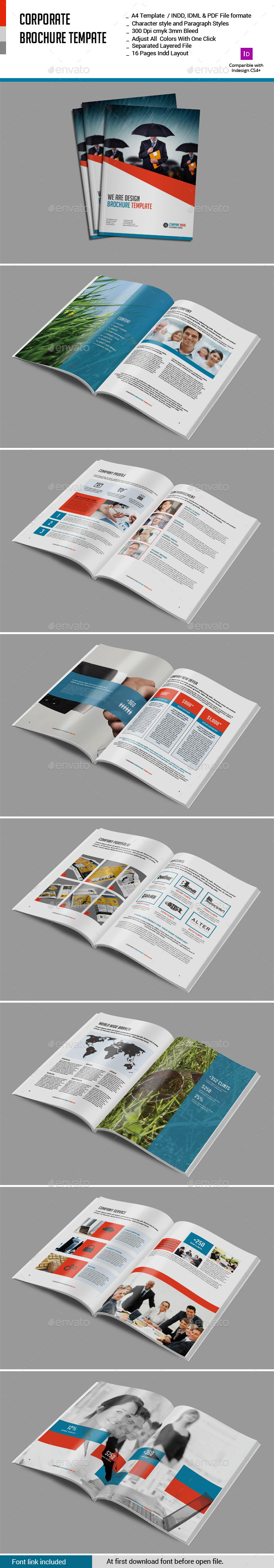 GraphicRiver Corporate Brcohure Template 11379349