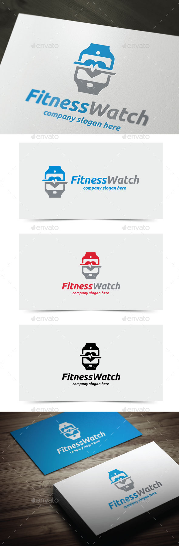 GraphicRiver Fitness Watch 11379395