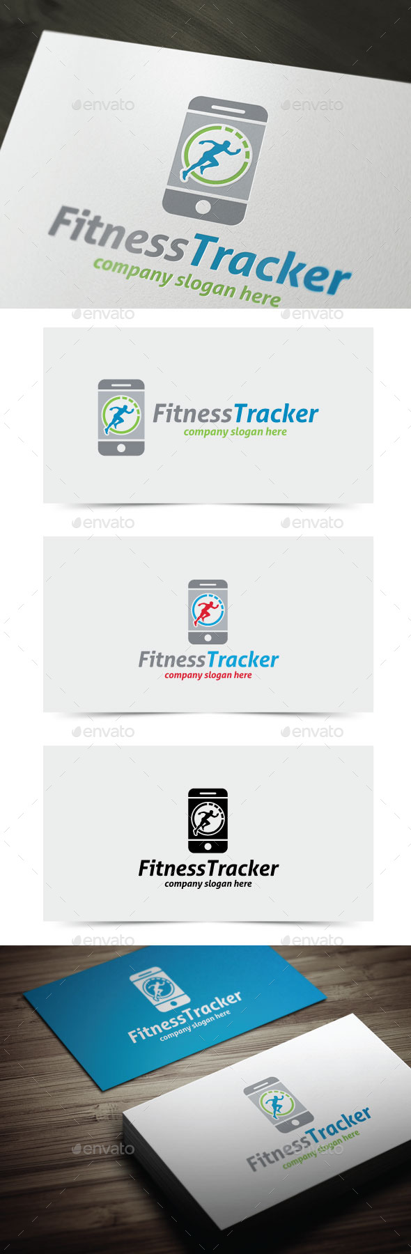 GraphicRiver Fitness Tracker 11379409