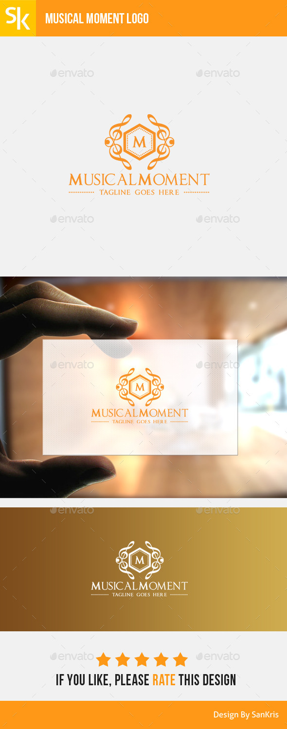 GraphicRiver Musical Moment Logo 11379478
