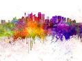 Sydney v2 skyline in watercolor background - PhotoDune Item for Sale