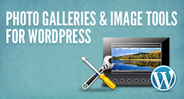 Photo galleries and image tools for WordPress