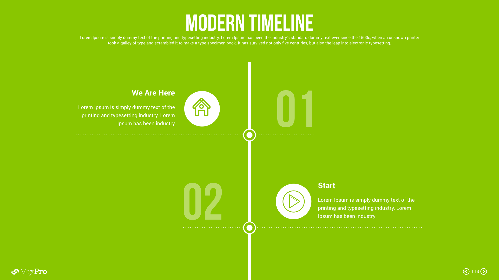 MaxPro Business Plan Keynote Presentation Template by