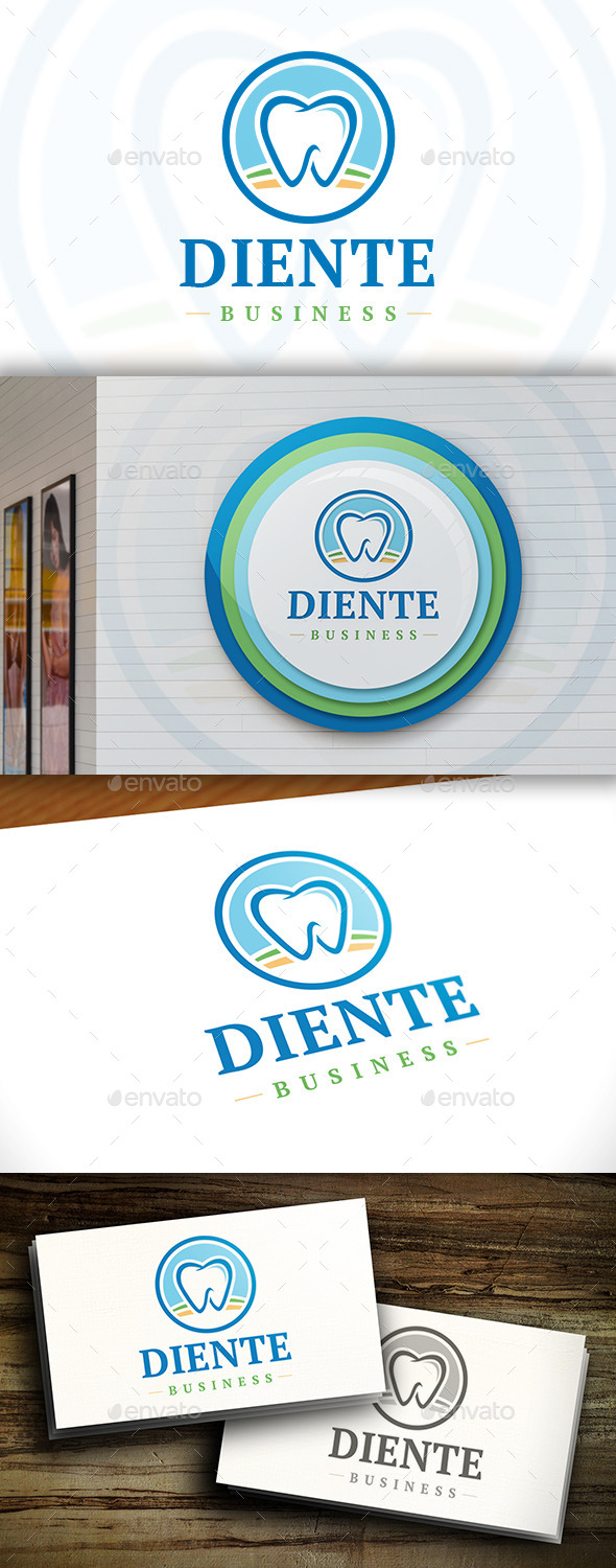 GraphicRiver Dental Modern Logo 11379952