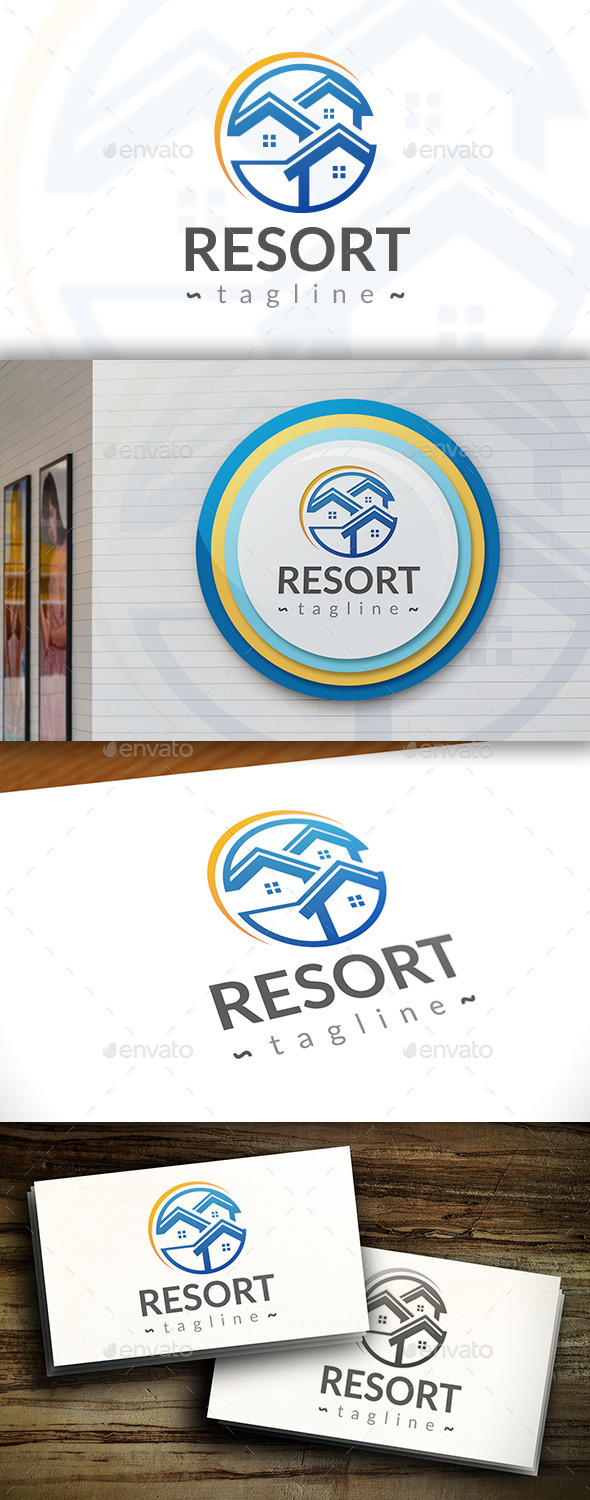 GraphicRiver Resort Logo 11380220