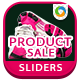 Product Sale Sliders - 5 Designs