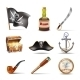 Pirate Icons Set - GraphicRiver Item for Sale