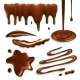 Chocolate Drops Set - GraphicRiver Item for Sale