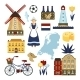 Netherlands Symbols Set - GraphicRiver Item for Sale