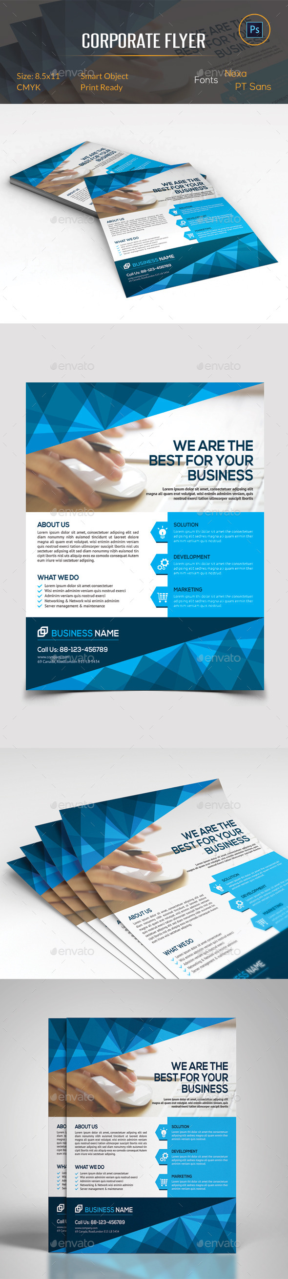 GraphicRiver Corporate Business Flyer 11380680