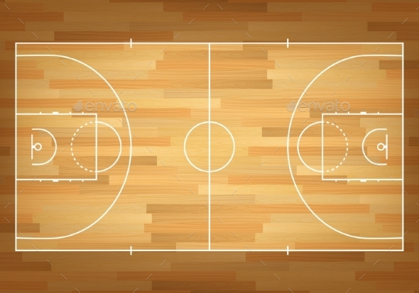 GraphicRiver Basketball Court On Top 11380853