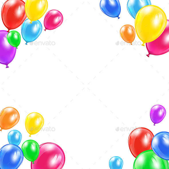 GraphicRiver Decorative Balloons 11380937