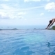 Man Jumping And Diving In Infinite Pool Outdoor - VideoHive Item for Sale