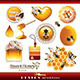 Honey Design Elements and Icons - GraphicRiver Item for Sale