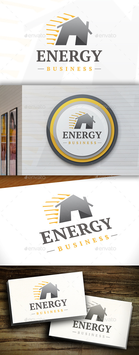 GraphicRiver Energy House Logo 11381528