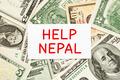 Help Nepal Donation Concept - PhotoDune Item for Sale
