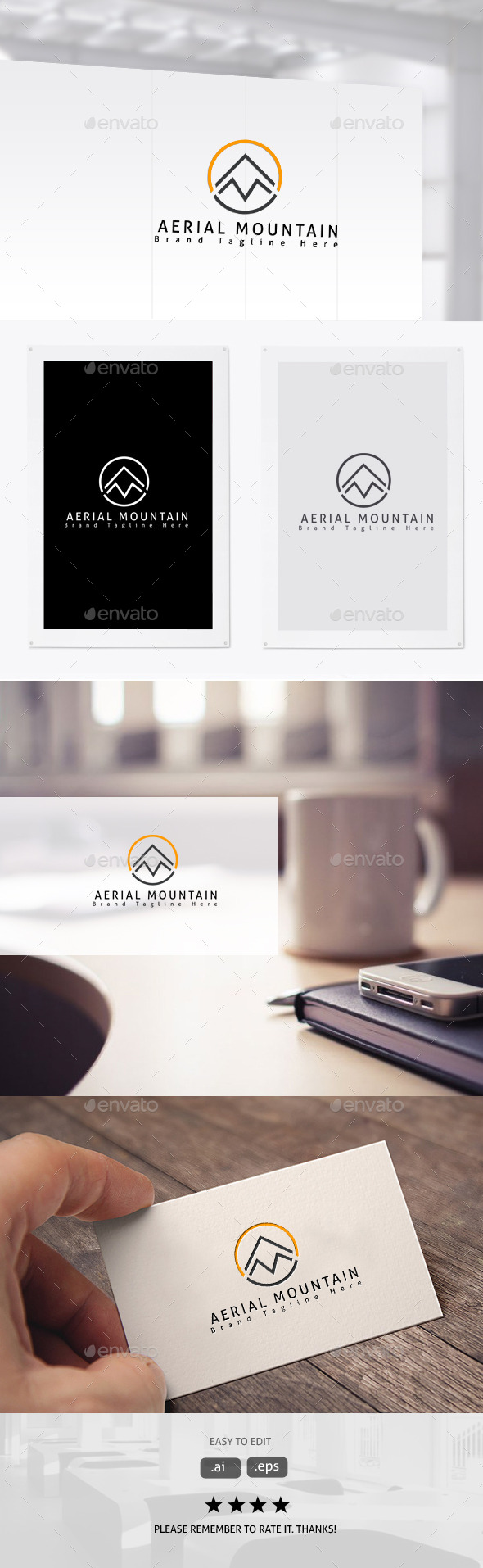 GraphicRiver Mountain Brand 11382005