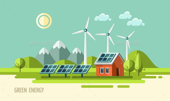 GraphicRiver Green Energy Ecology Environment 11382097