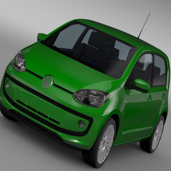 3DOcean VW Eco UP 5 door 2013 11382249